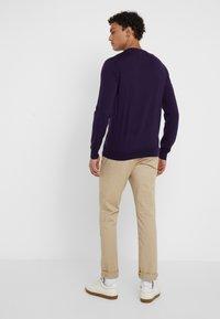 Polo Ralph Lauren - SLIM FIT - Maglione - gothic purple - 2