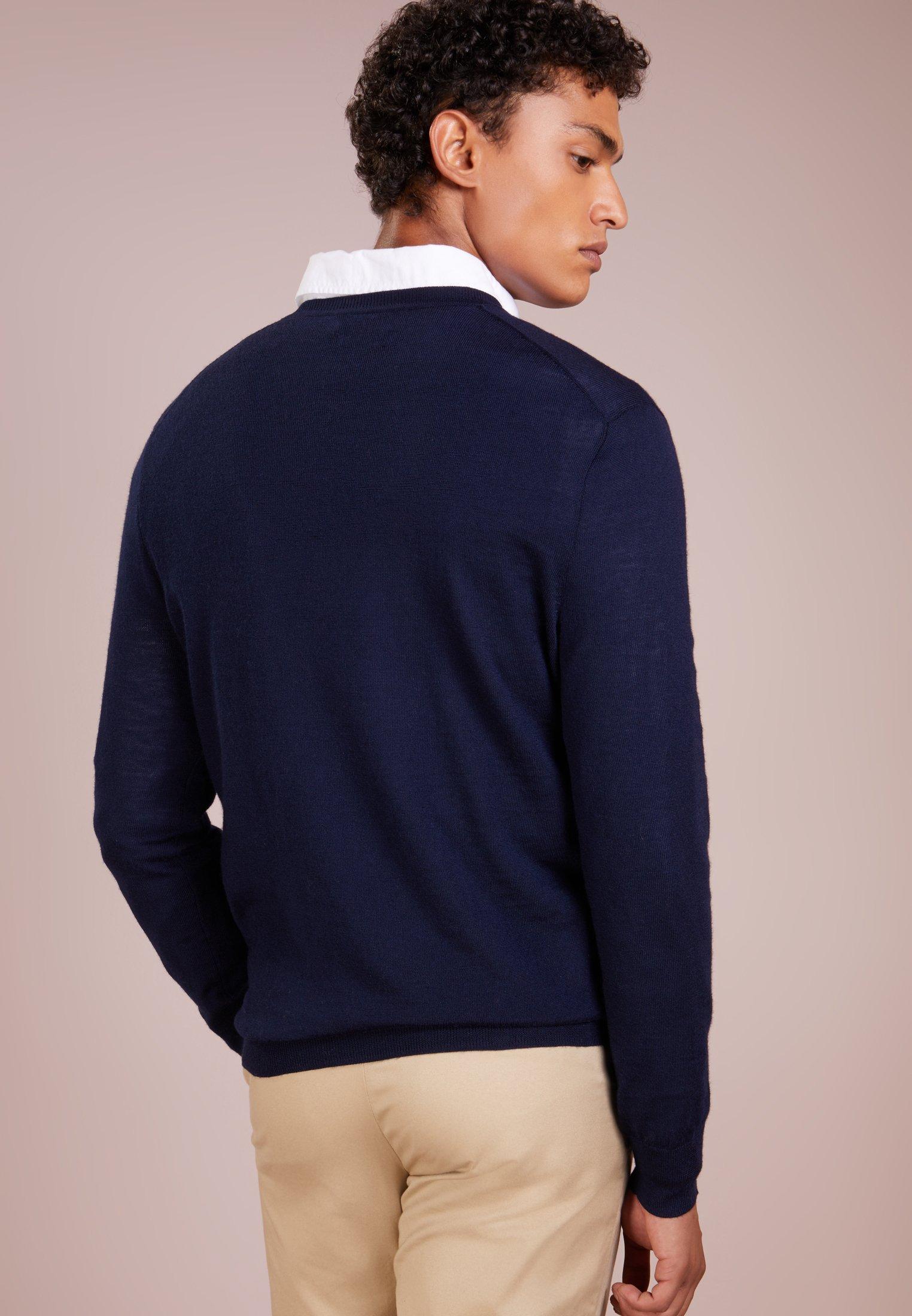 Navy Lauren Ralph Polo Slim Hunter FitPullover dQrhts