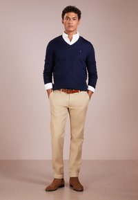 Polo Ralph Lauren - SLIM FIT - Strikpullover /Striktrøjer - hunter navy - 1