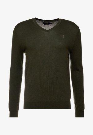 SLIM FIT - Maglione - oil cloth green