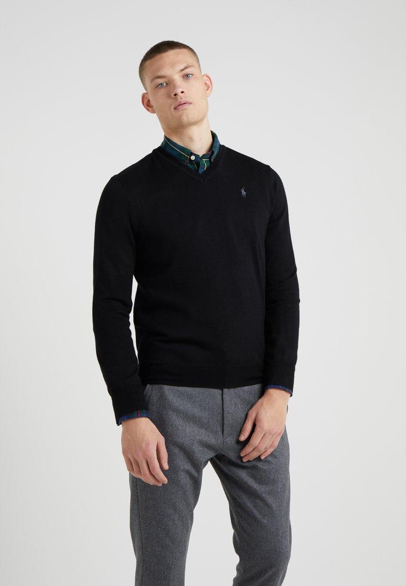 Polo Ralph Lauren - SLIM FIT - Strickpullover - black