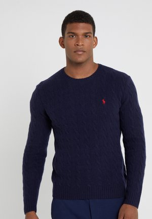 Strikpullover /Striktrøjer - hunter navy