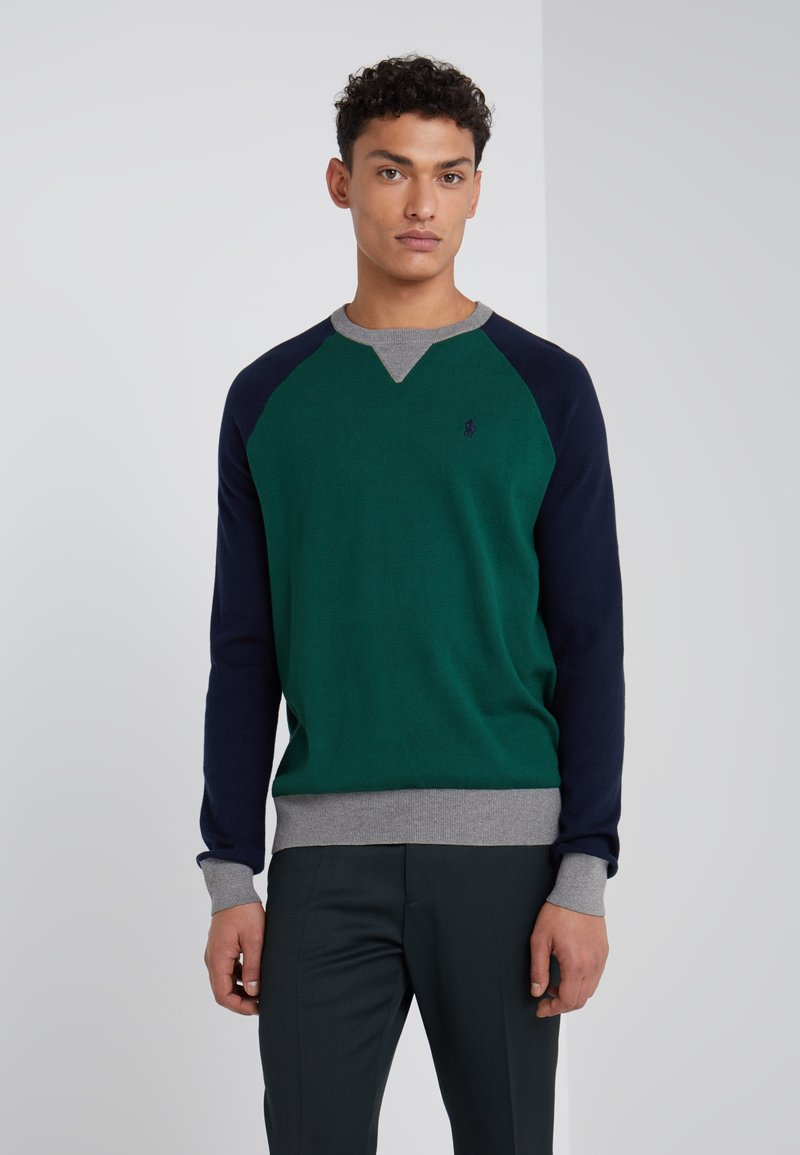 Polo Ralph Lauren - Jumper - forest/navy/grey