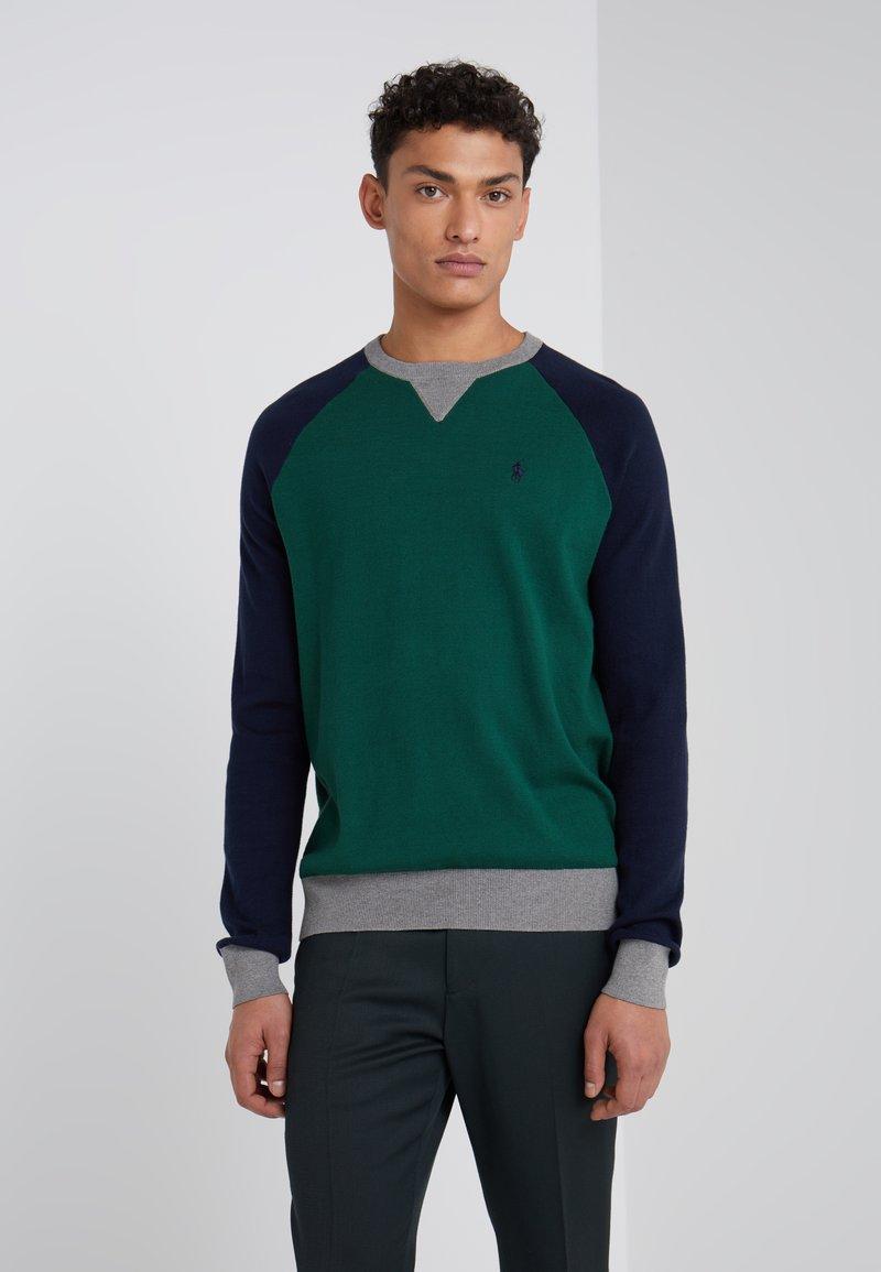 Polo Ralph Lauren - Strickpullover - forest/navy/grey
