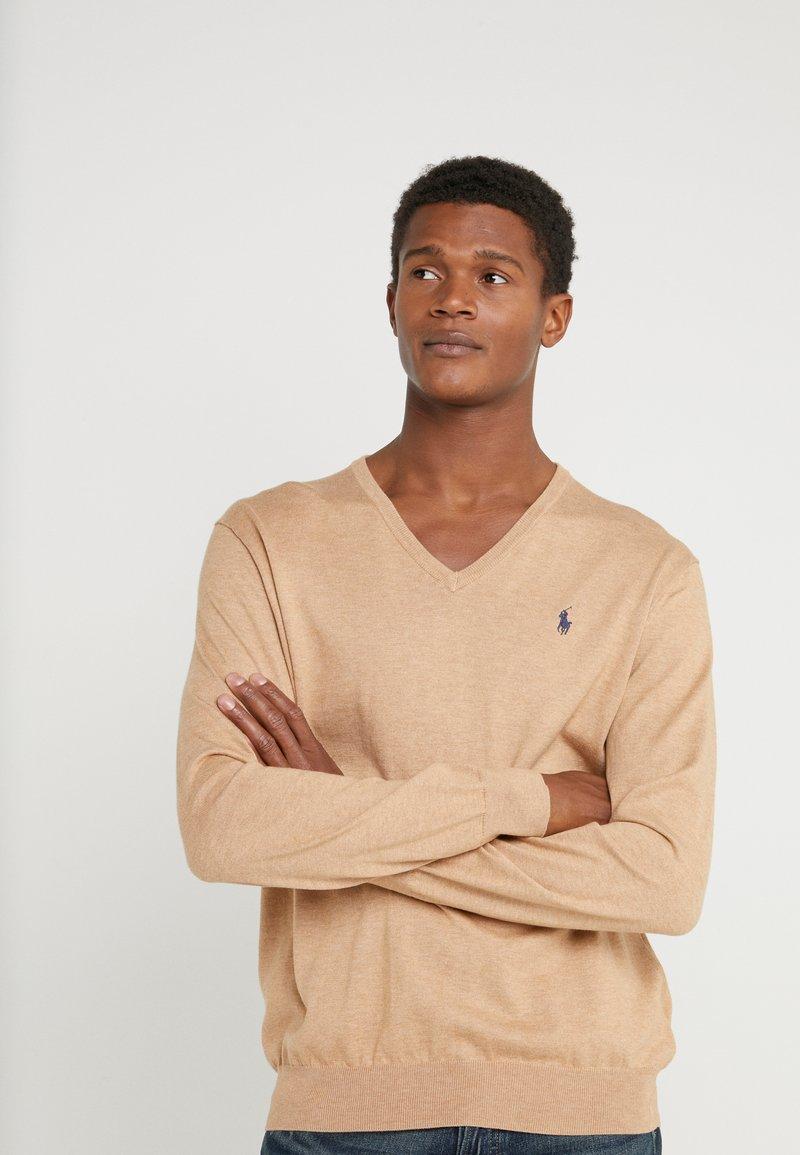 Polo Ralph Lauren - Pullover - camel melange