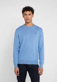 Polo Ralph Lauren - LONG SLEEVE - Pullover - soft royal heather - 0
