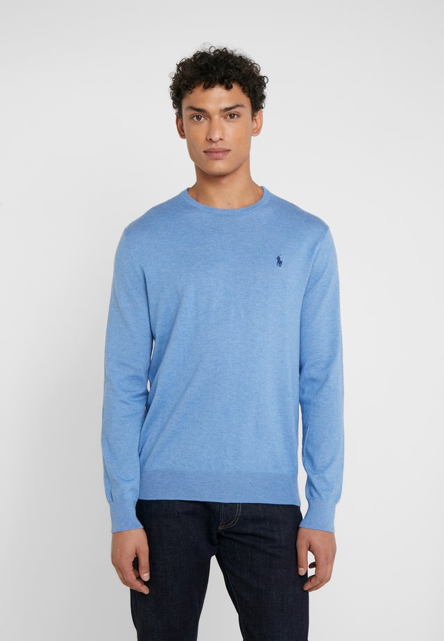 LONG SLEEVE - Sweter - soft royal heather