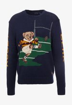 BLEND BEAR - Pullover - navy