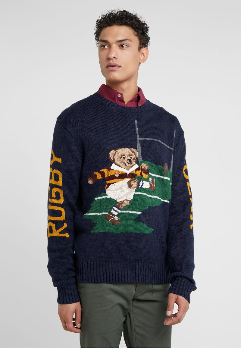 Polo Ralph Lauren - BLEND BEAR - Pullover - navy