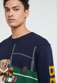Polo Ralph Lauren - BLEND BEAR - Pullover - navy - 3