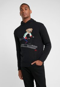 Polo Ralph Lauren - Sweat à capuche - black ski bear - 0