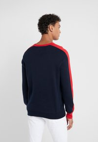 Polo Ralph Lauren - Stickad tröja - navy/red - 2