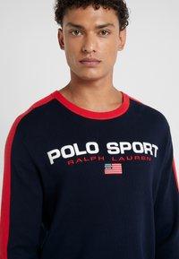 Polo Ralph Lauren - Stickad tröja - navy/red - 4