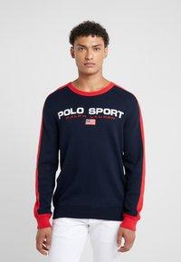 Polo Ralph Lauren - Stickad tröja - navy/red - 0