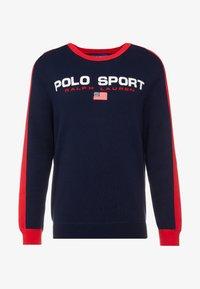 Polo Ralph Lauren - Stickad tröja - navy/red - 3