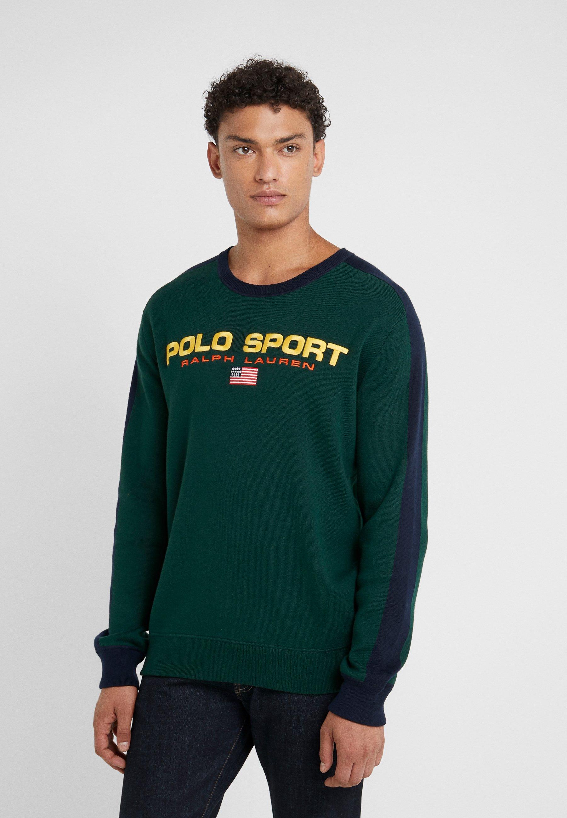 Polo Ralph Lauren Sweter - forest/navy