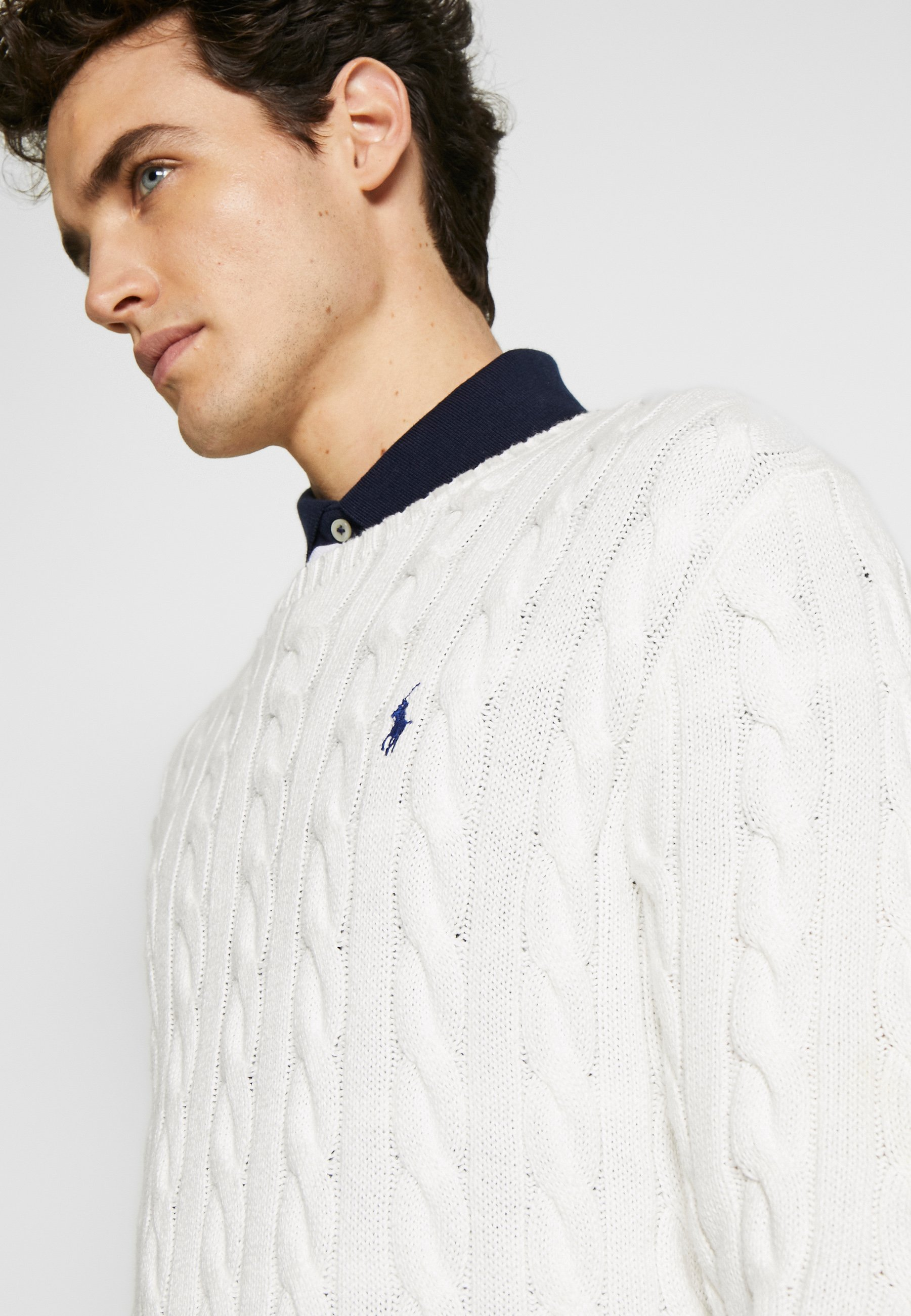 Polo Ralph Lauren CABLE - Maglione - old white