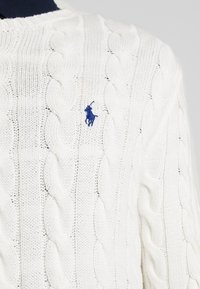 Polo Ralph Lauren - CABLE - Neule - old white - 5