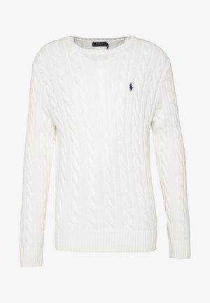 CABLE - Pullover - old white