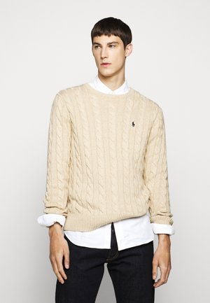 CABLE - Pullover - oatmeal heather
