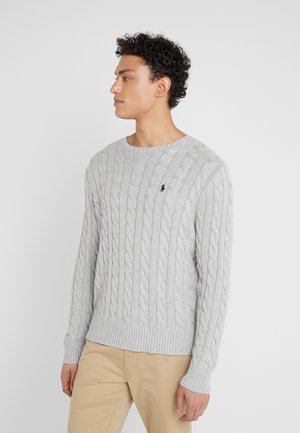 CABLE - Strickpullover - andover heather