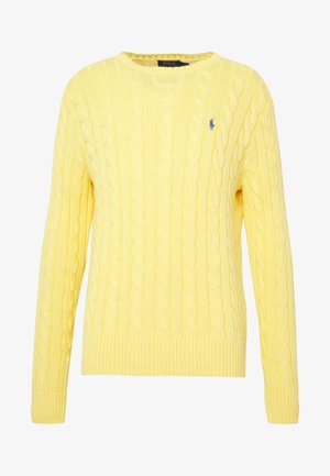 CABLE - Pullover - fall yellow