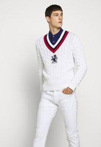 Polo Ralph Lauren - Pullover - white/multi - 4