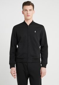 Polo Ralph Lauren - LONG SLEEVE - Neuletakki - black - 0