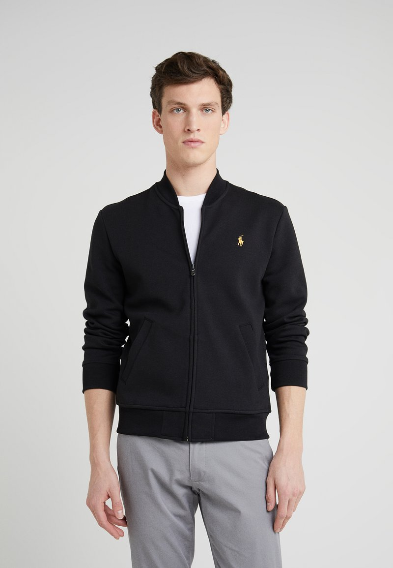 Polo Ralph Lauren - LONG SLEEVE - Kofta -  black/gold