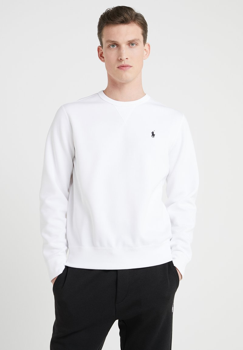 Polo Ralph Lauren - DOUBLE TECH - Sweatshirts - white