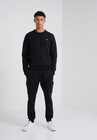 Polo Ralph Lauren - DOUBLE TECH - Sweatshirts - black/cream - 1