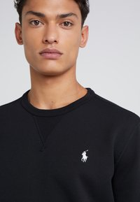 Polo Ralph Lauren - DOUBLE TECH - Sweatshirts - black/cream - 4