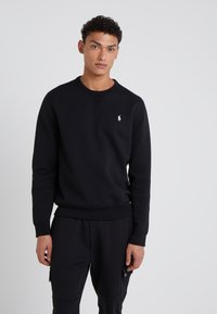 Polo Ralph Lauren - DOUBLE TECH - Sweatshirts - black/cream - 0