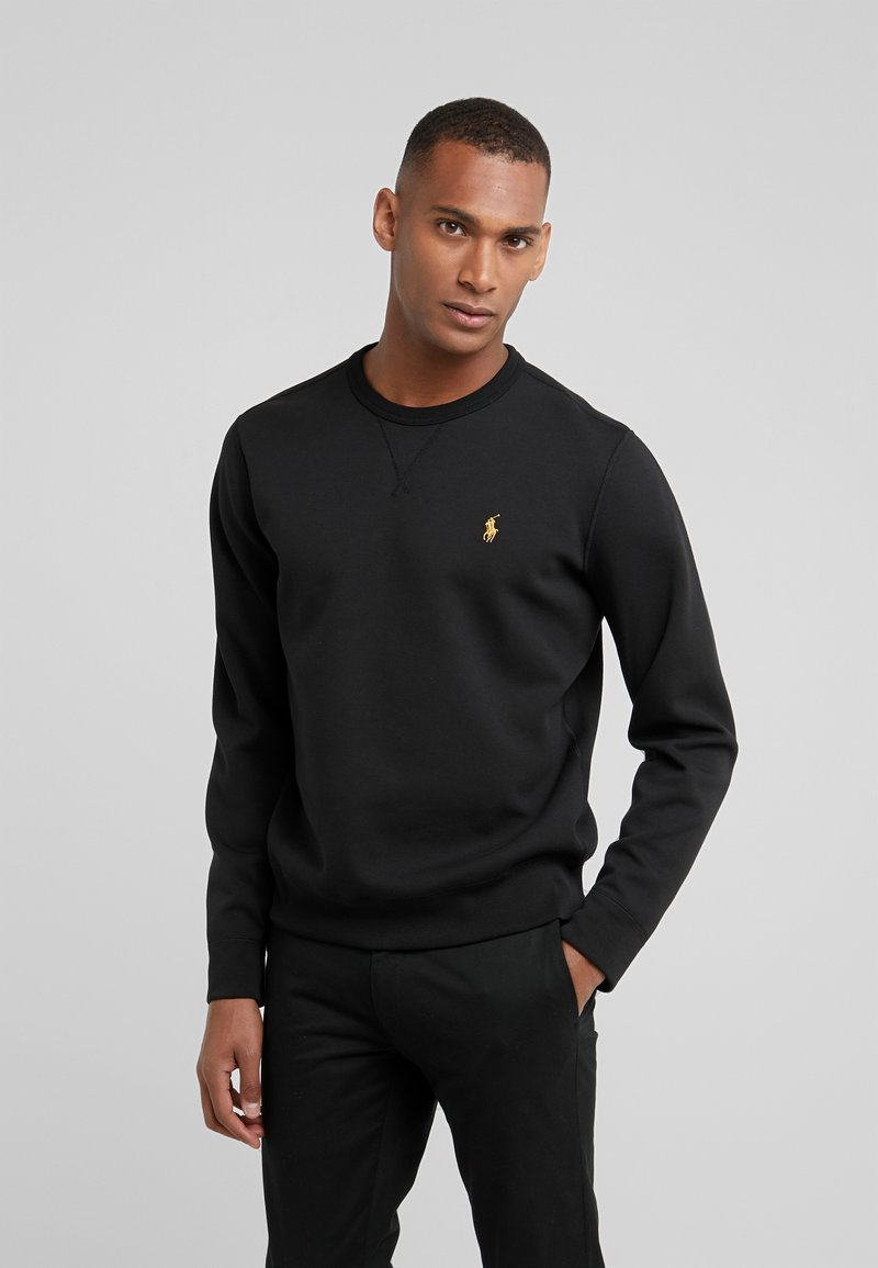 Polo Ralph Lauren - DOUBLE TECH - Sweatshirt - black/gold