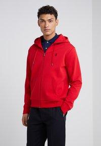 Polo Ralph Lauren - DOUBLE TECH - Mikina na zip - red - 0
