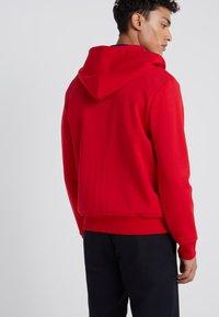 Polo Ralph Lauren - DOUBLE TECH - Mikina na zip - red - 2