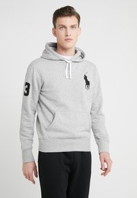 Polo Ralph Lauren - MAGIC - Kapuzenpullover - andover heather - 0