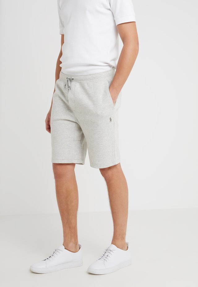 DOUBLE KNIT TECH-SHO - Shorts - sport heather