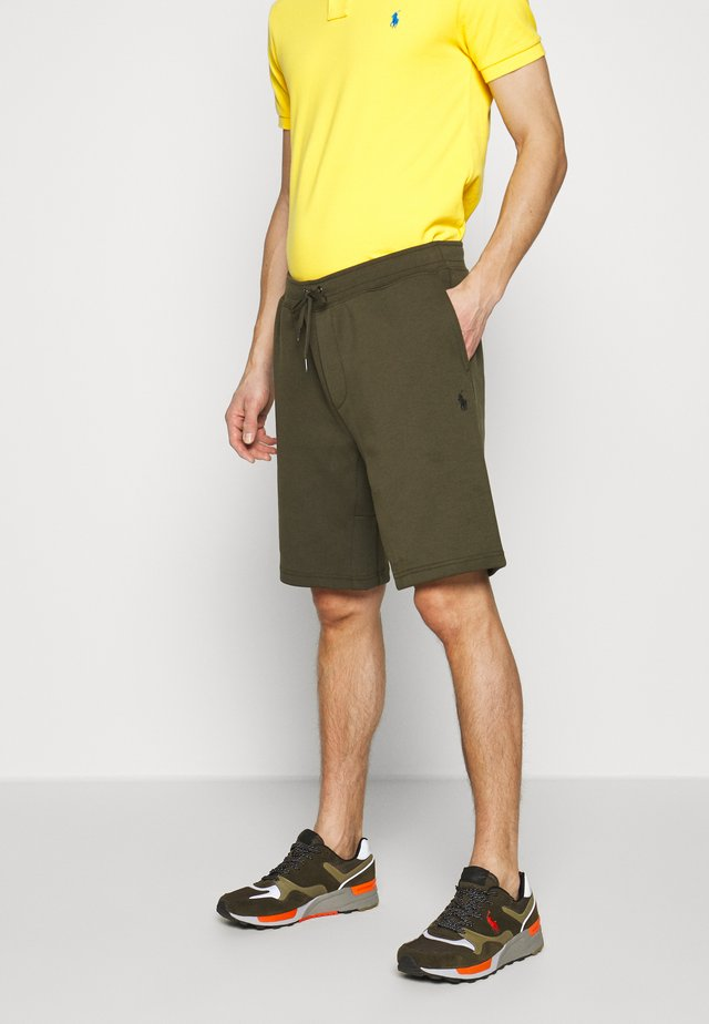 DOUBLE KNIT TECH-SHO - Shorts - company olive