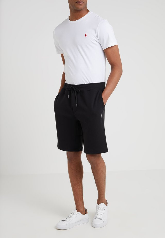 DOUBLE KNIT TECH-SHO - Shorts - black