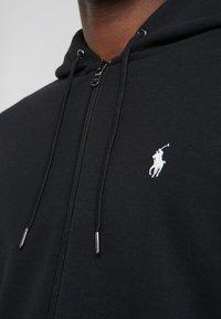 Polo Ralph Lauren - DOUBLE TECH HOOD - Zip-up hoodie - black - 5