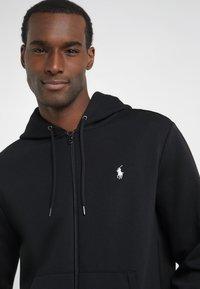 Polo Ralph Lauren - DOUBLE TECH HOOD - Zip-up hoodie - black - 3