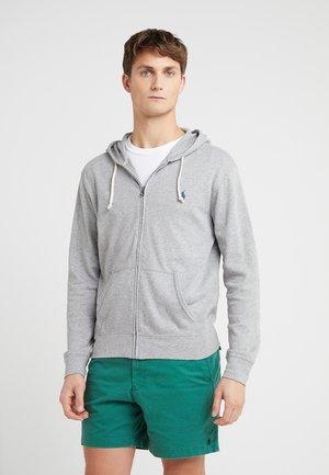 TERRY - veste en sweat zippée - andover heather