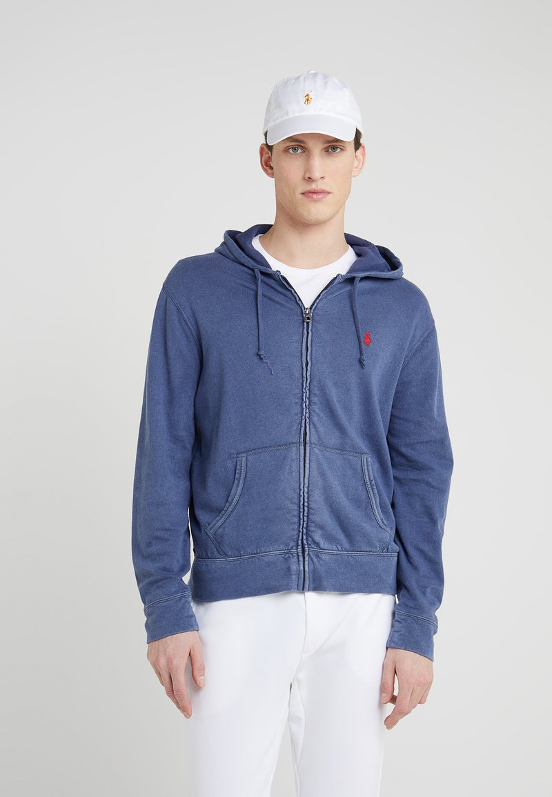 Polo Ralph Lauren - TERRY - Huvtröja med dragkedja - cruise navy