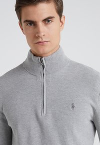 Polo Ralph Lauren - PIMA TEXTURE - Svetr - andover heather - 4