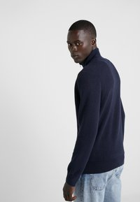 Polo Ralph Lauren - PIMA TEXTURE - Strikpullover /Striktrøjer - navy heather - 2