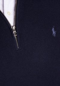 Polo Ralph Lauren - PIMA TEXTURE - Strikpullover /Striktrøjer - navy heather - 5