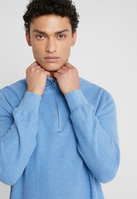 Polo Ralph Lauren - PIMA TEXTURE - Svetr - soft royal heather - 3