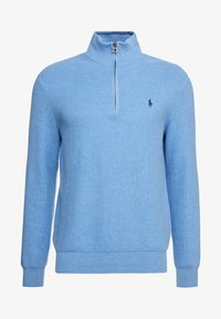 Polo Ralph Lauren - PIMA TEXTURE - Svetr - soft royal heather - 4