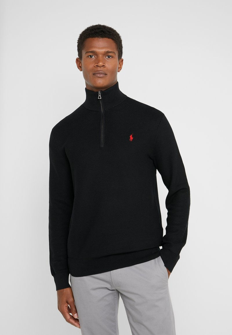 Polo Ralph Lauren - PIMA TEXTURE - Jumper - black